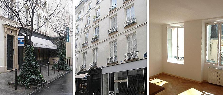 investissement immobilier ancien paris rue de lille. Black Bedroom Furniture Sets. Home Design Ideas
