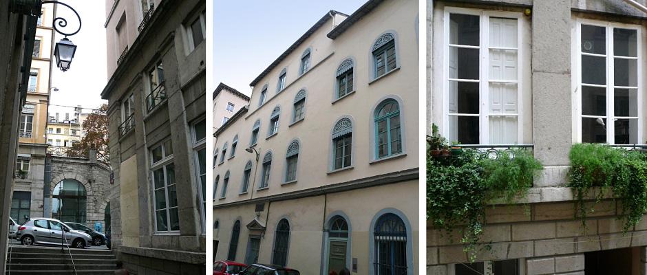 Investissement Lyon, rue Burdeau