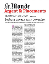 Le Monde argent & placement