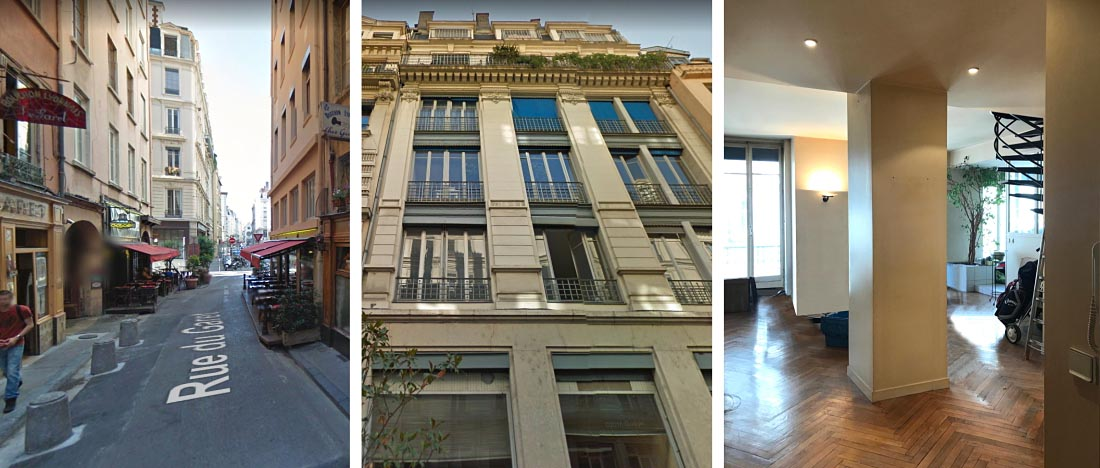 Investissement locatif Lyon - rue Garet