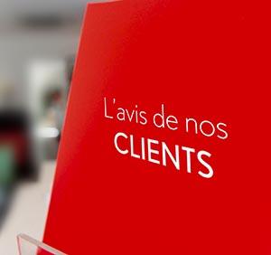 L' avis de nos clients