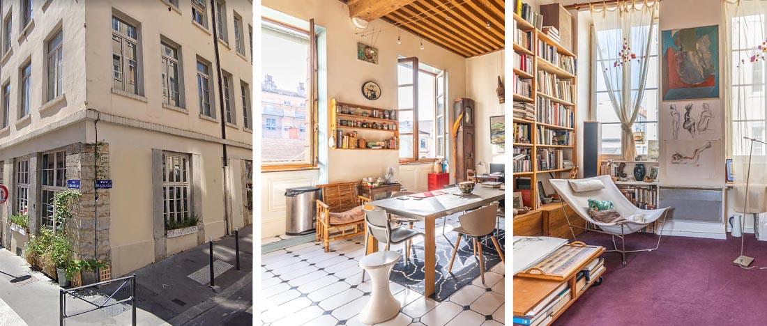 Investissement immobilier ancien Lyon - Flesselles